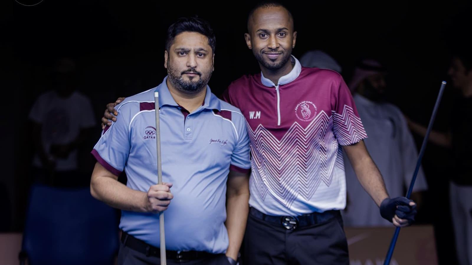 Qatar's Hussein defeats compatriot Majed to win billiards 9-Ball gold medal at Gulf championship