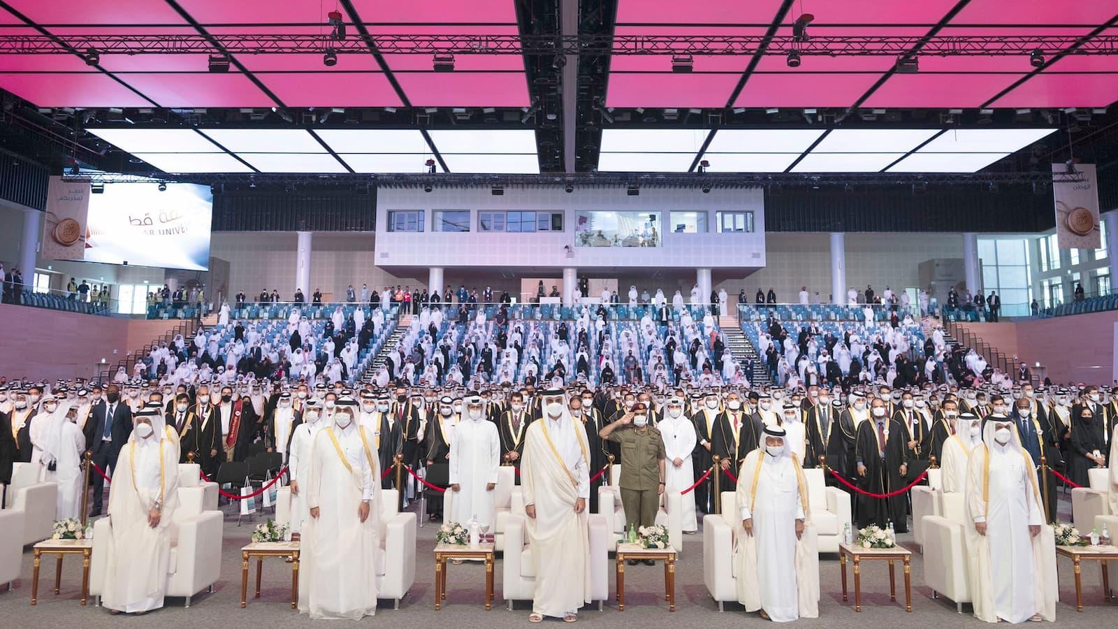 Qatar University's College of Medicine celebrates the graduation of its first batch