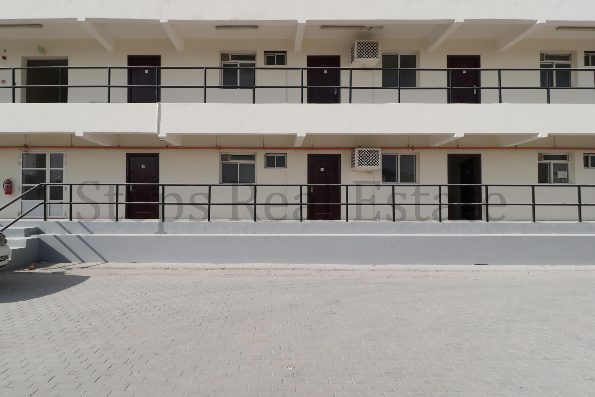 21 Room labor Camp Building For Rent .