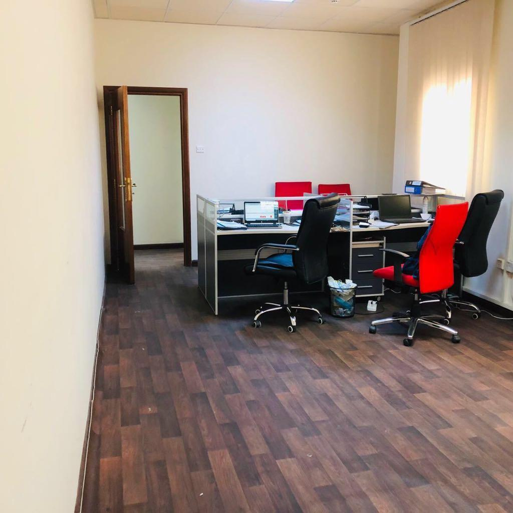 Semi-Furnished Office space ( 4 Big Rooms+ 2 bathr