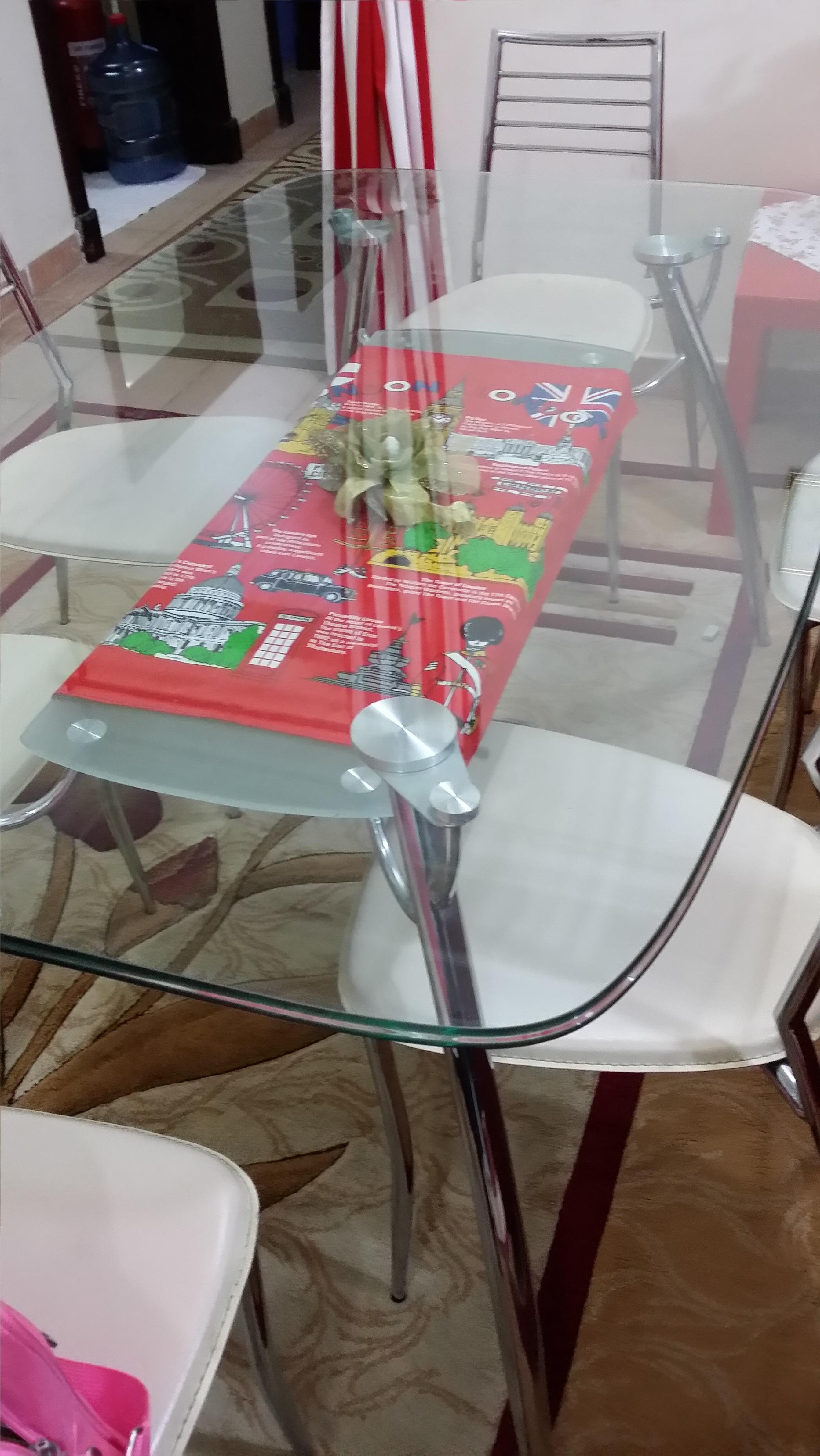 Dinning table with or without chairs