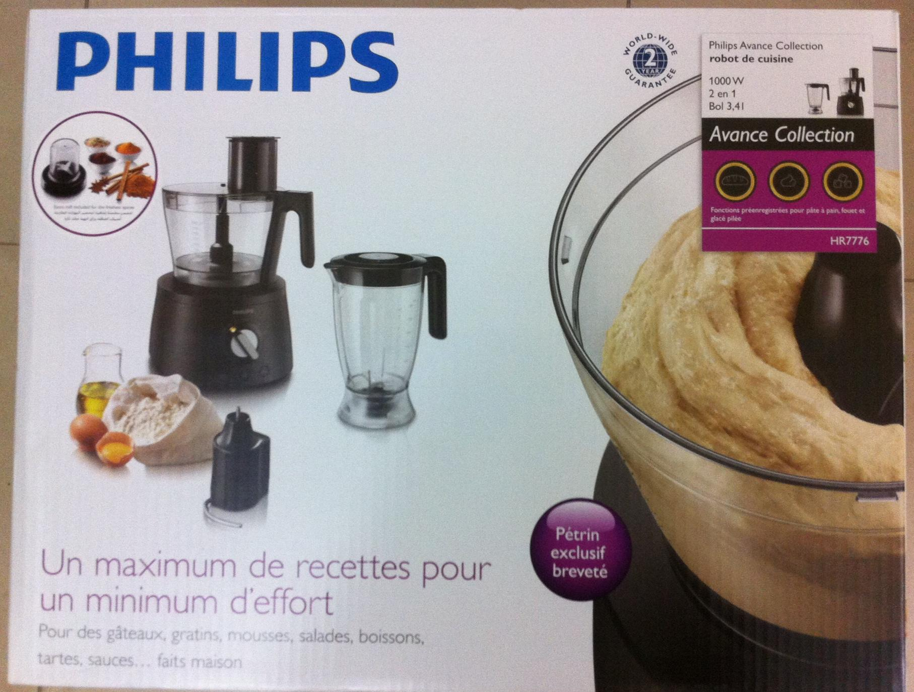 Brand New Philips Food Processor HR7776   Qatar Living