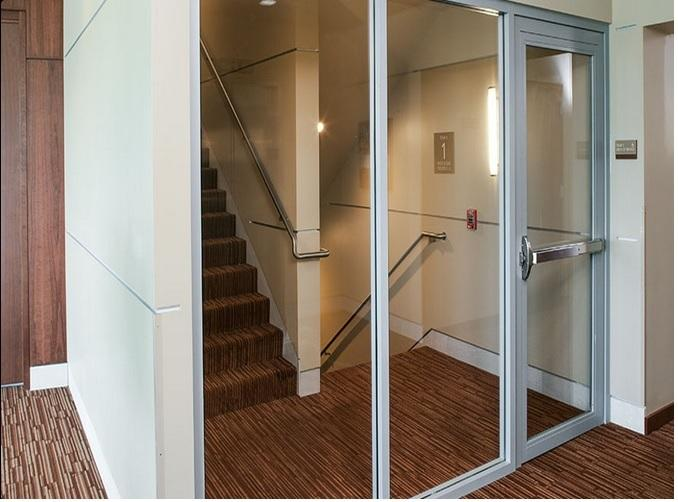 Fire Rated Steel Doors With Glass : Fire rated doors steel wood glass qatar living