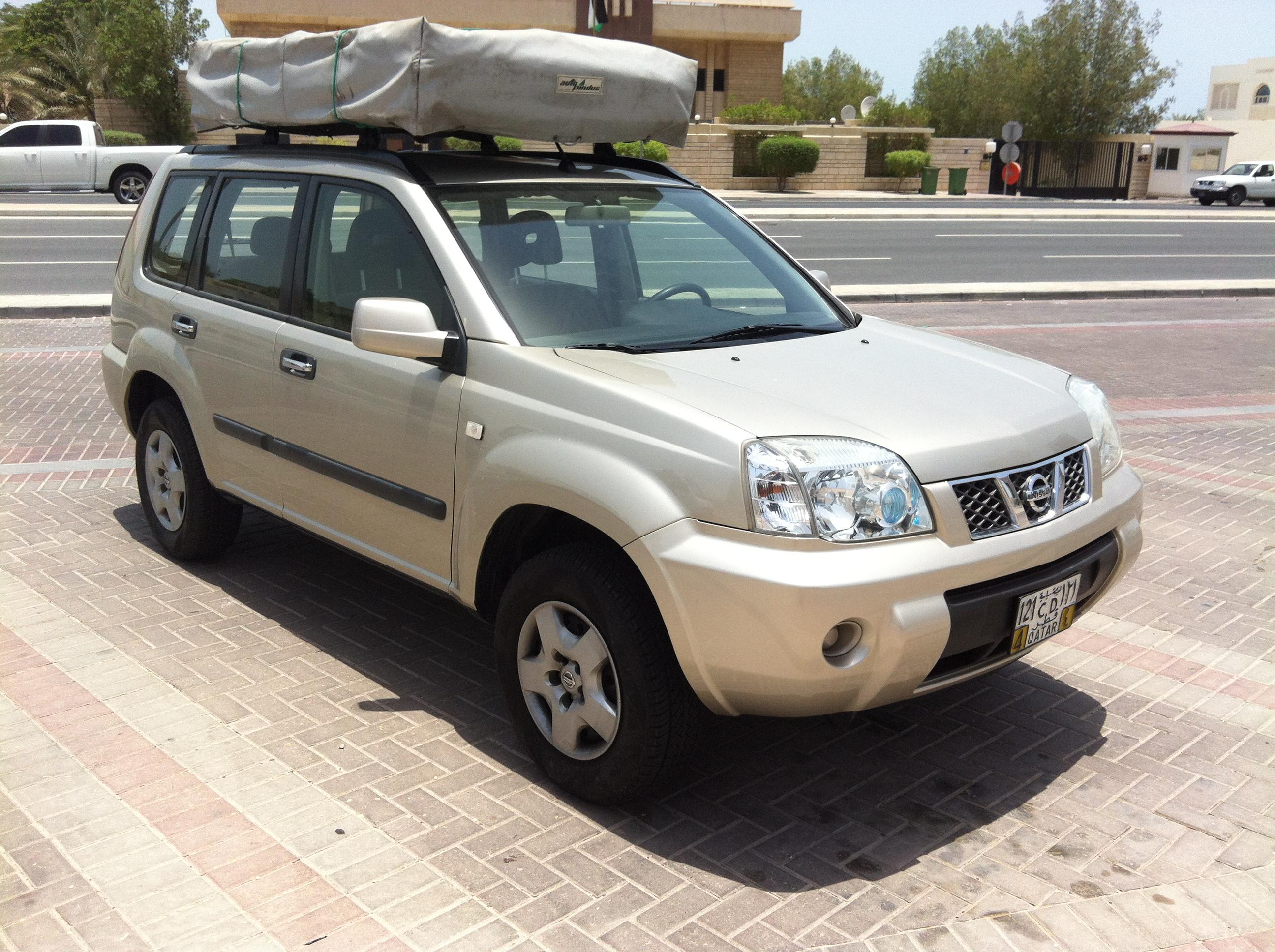 title; title; title & Nissan X Trail with Roof Tent | Qatar Living