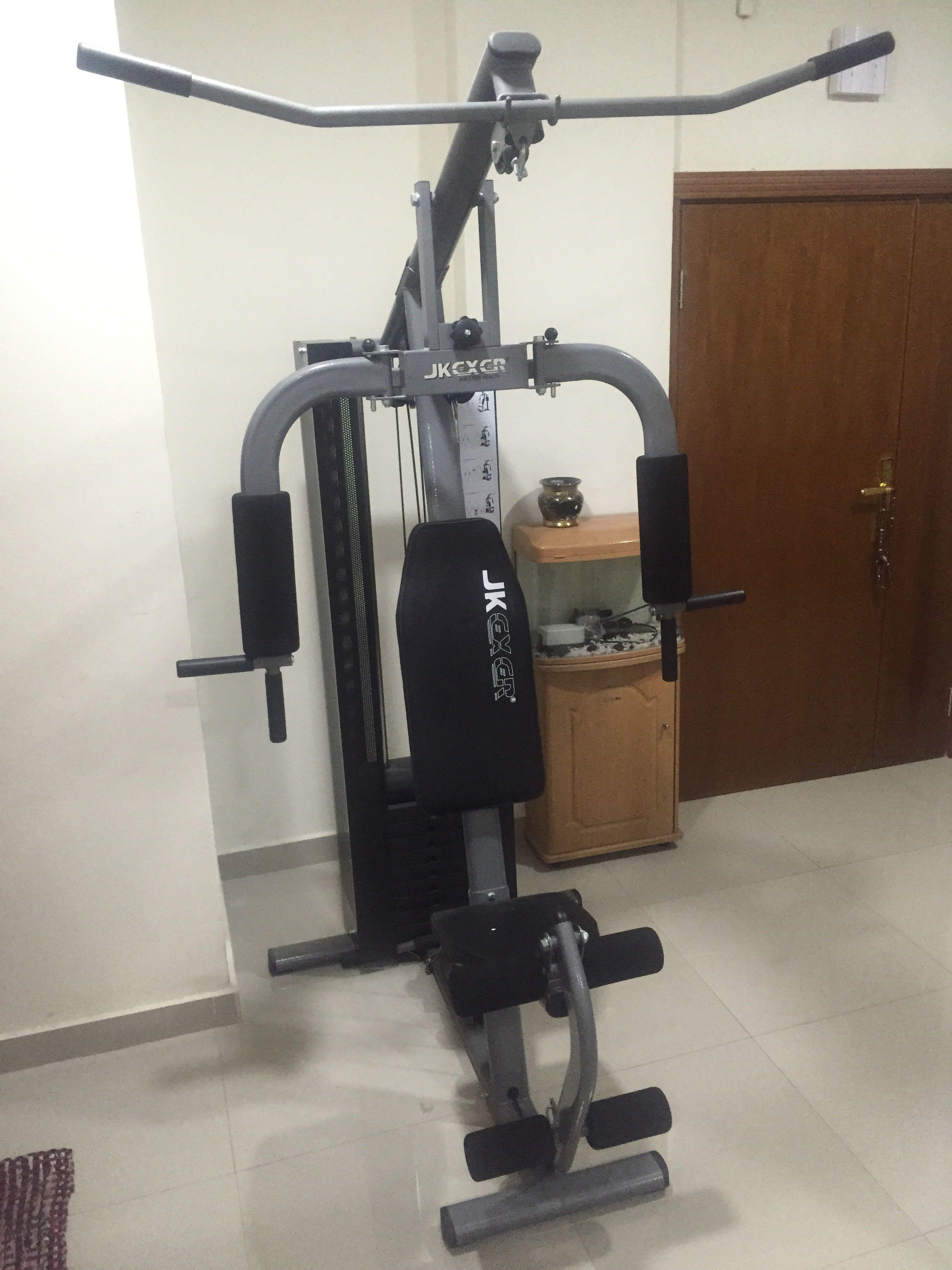 Home gym jkexer cheapest in town qatar living