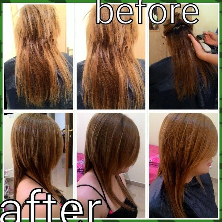Hair Rebonding Service Hairstyle Hair Reborn Etch Qatar Living