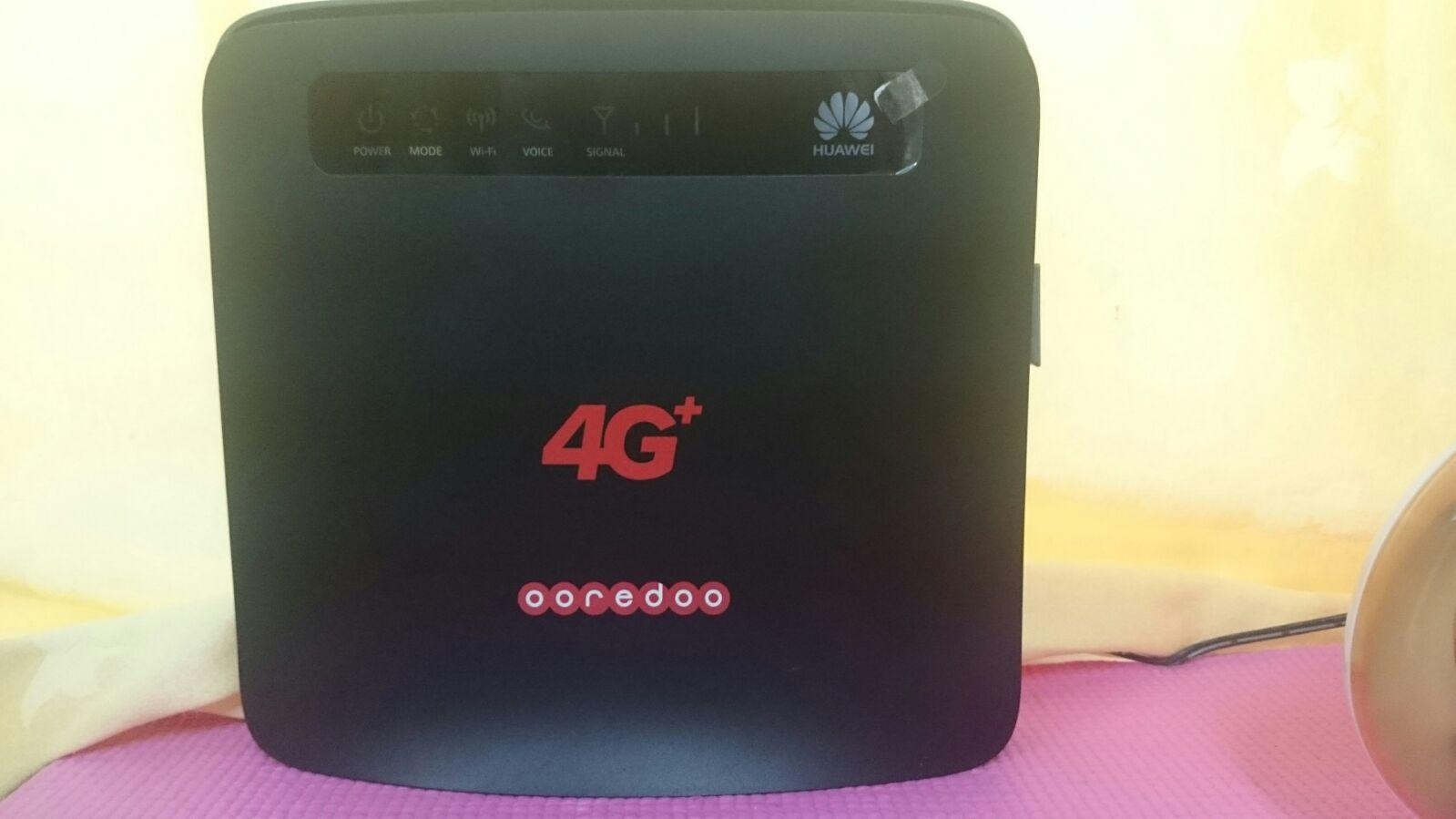 ooredoo 4g+ internet router | Qatar Living
