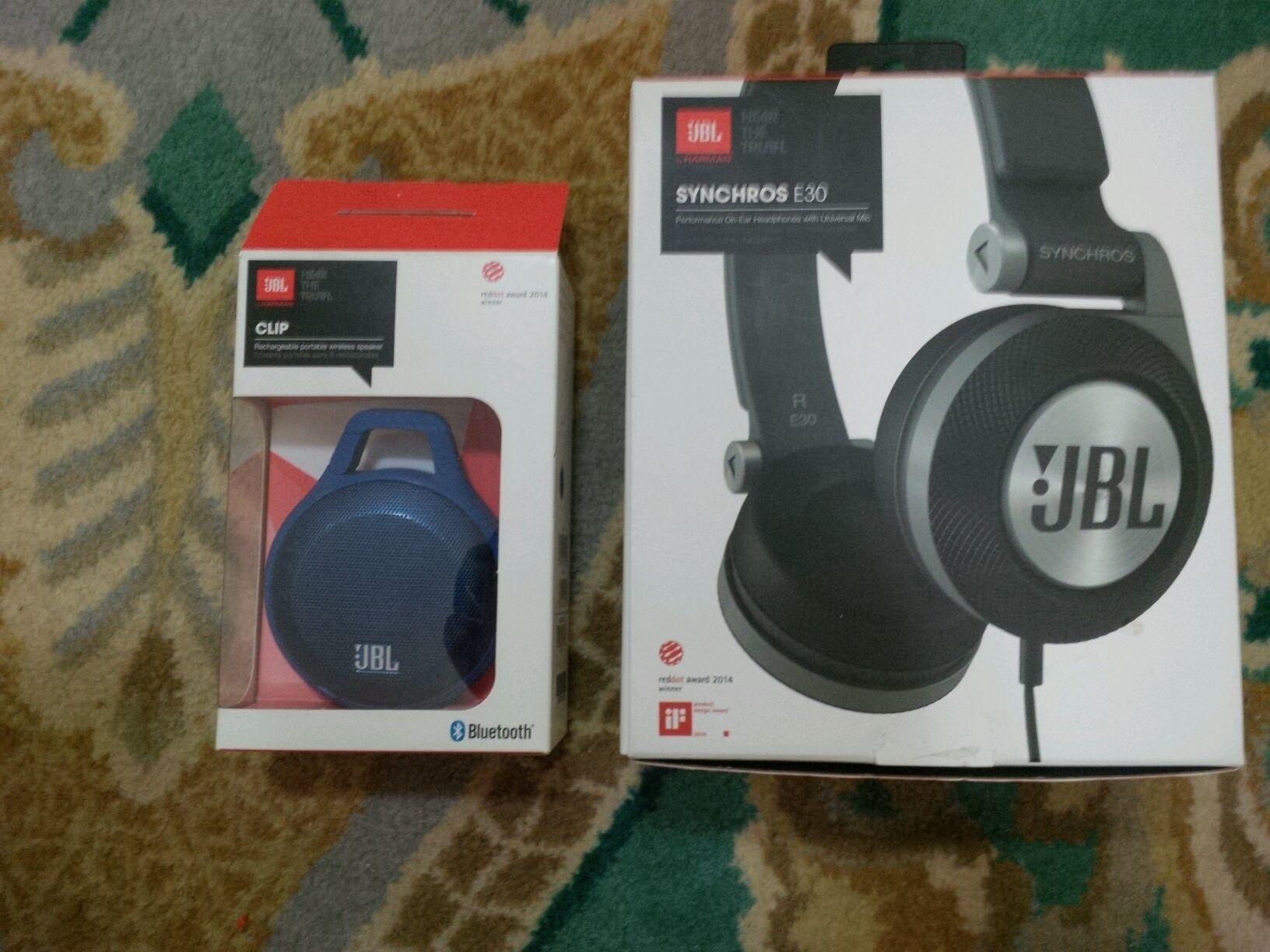 Jbl Speaker And Earphones Qatar Living Headset Synchros E30 Title