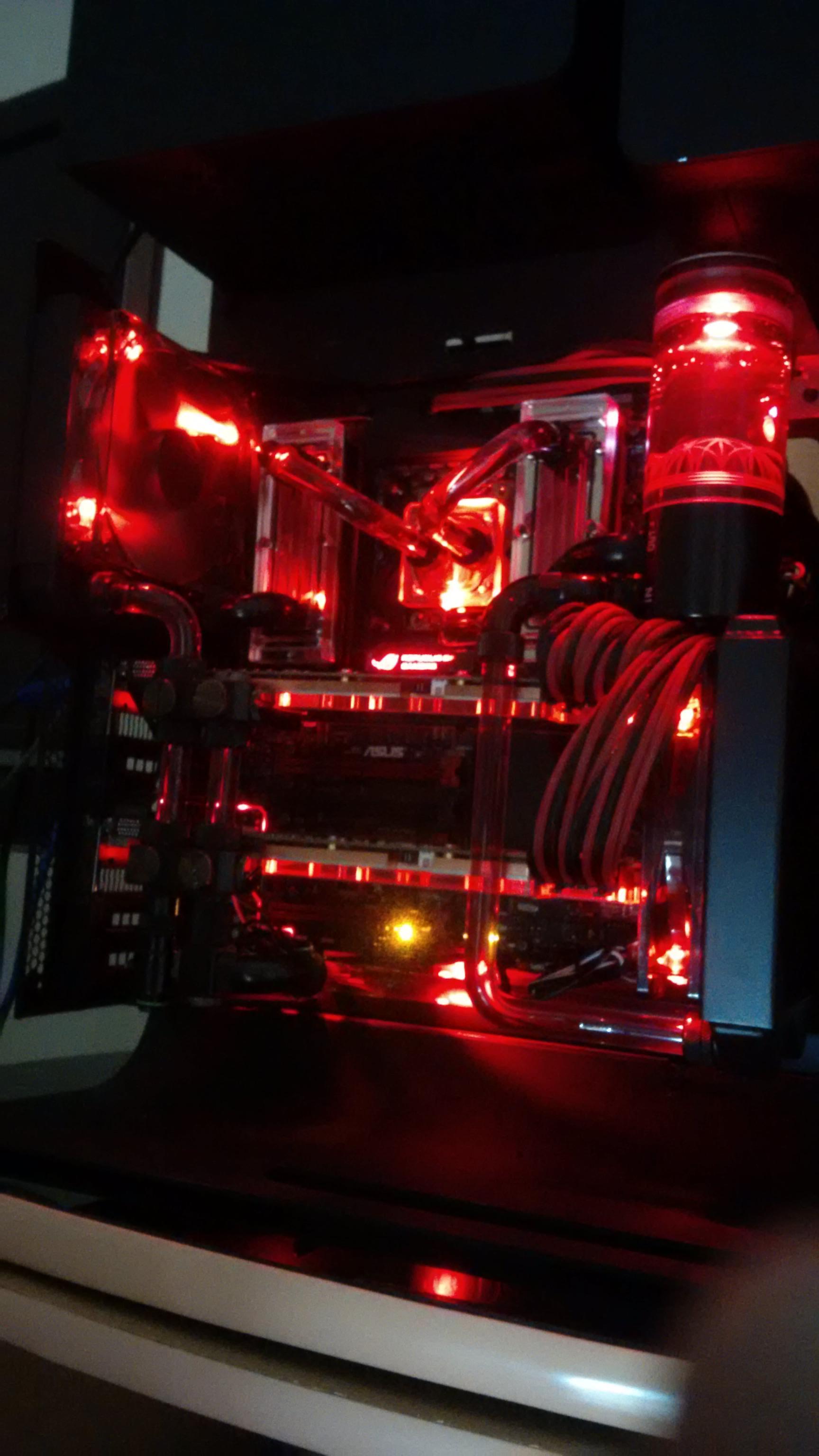 Gaming PC (Custom Watercooled CPU, RAM, GPU) Negotiable