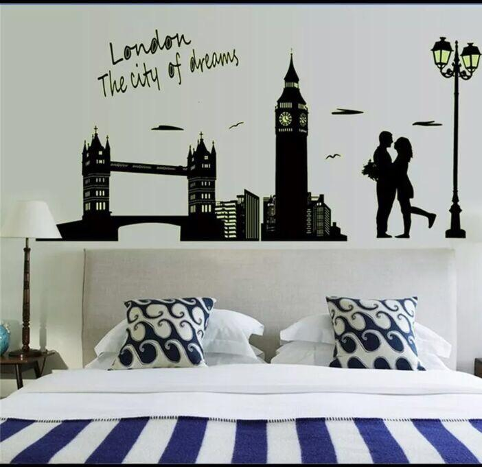 glow in the dark luminous wall stickers decals | qatar living