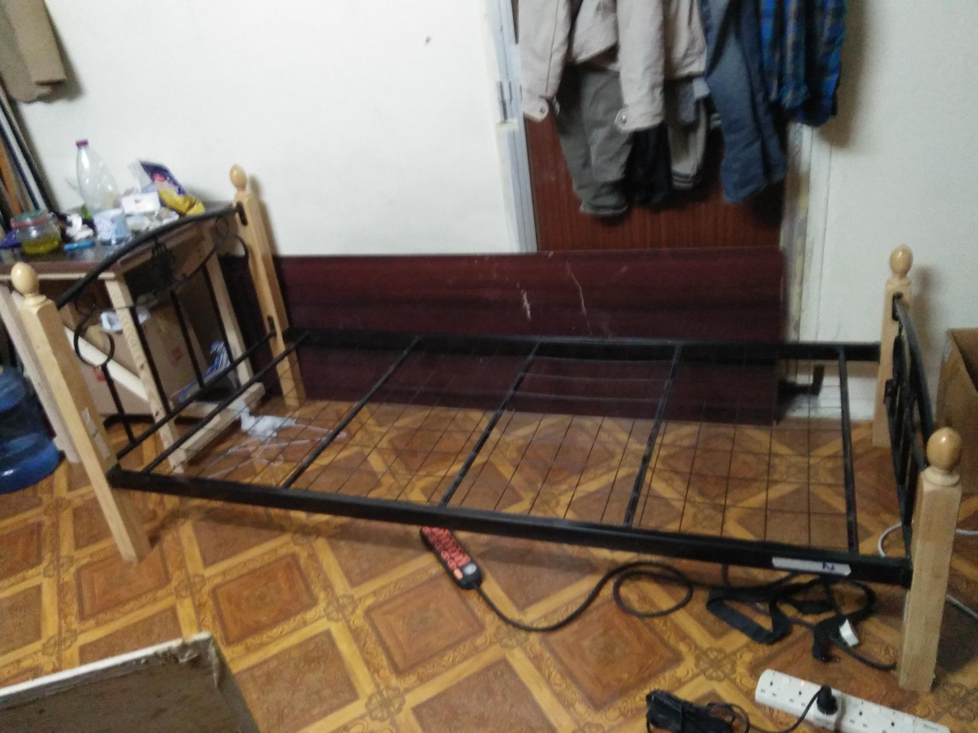 Single Bed steel structure in very less price