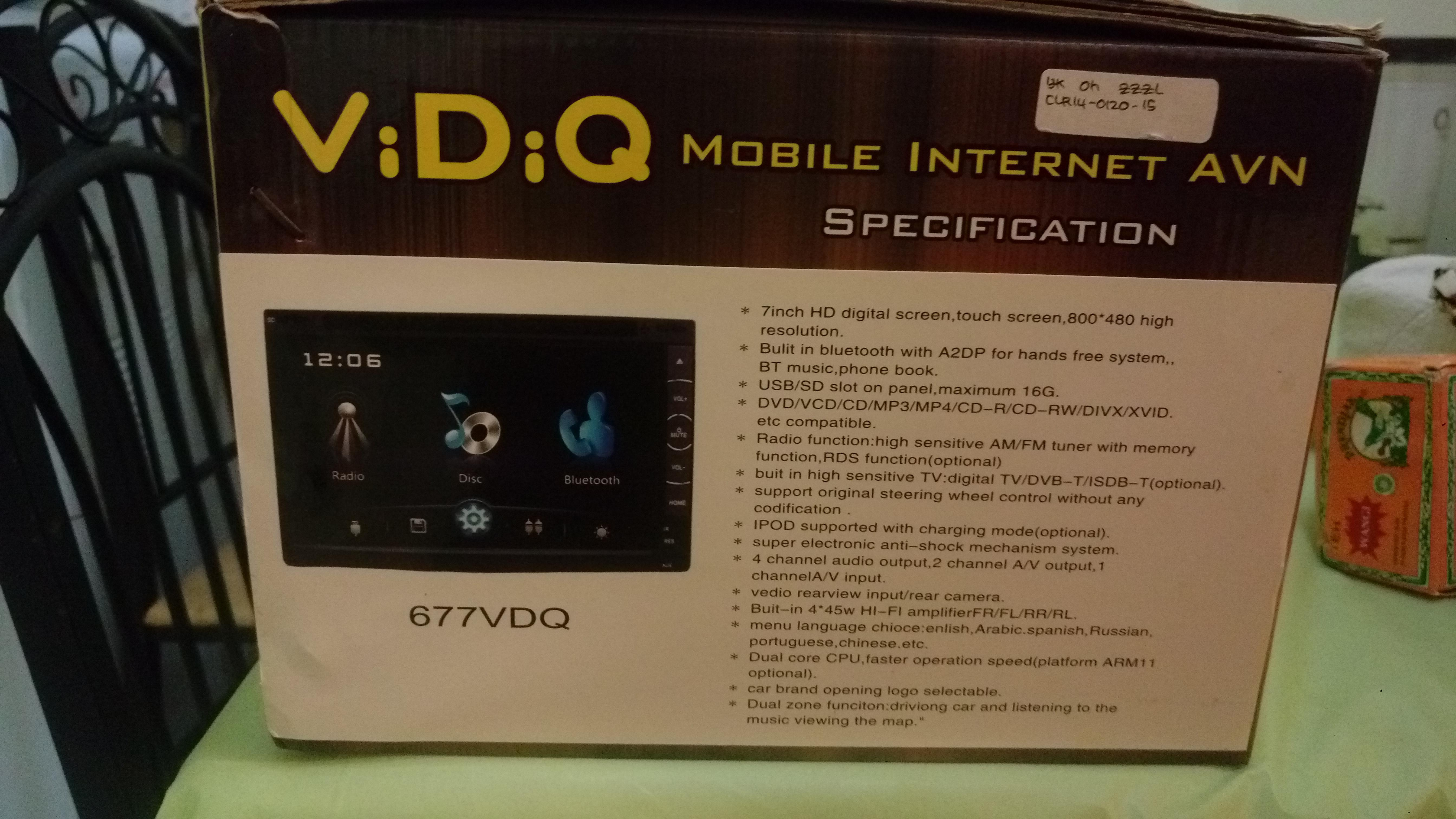 ViDiQ + Kenwood Car Audio System | Qatar Living