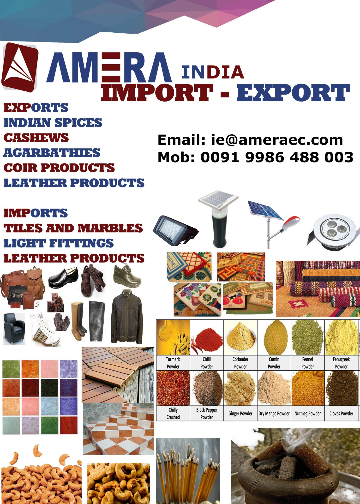 Exporting agent from India ( Any Product ) | Qatar Living