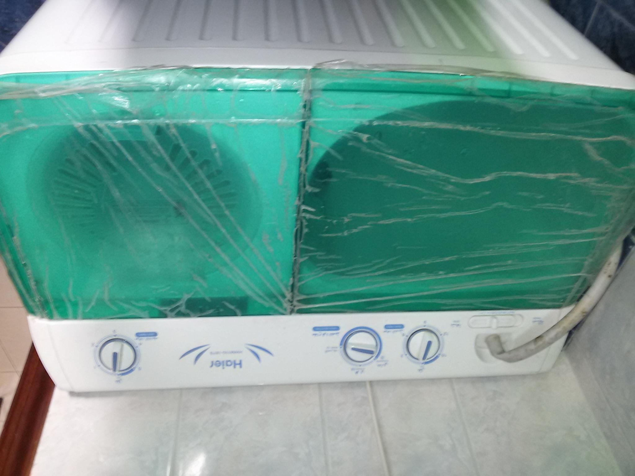 HAIER WASHING MACHINE - MANUAL FOR SALE - CONDITION LIKE NEW