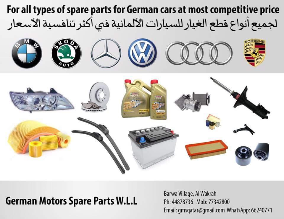 All Types Of German Car Spare Parts In Qatar Qatar Living