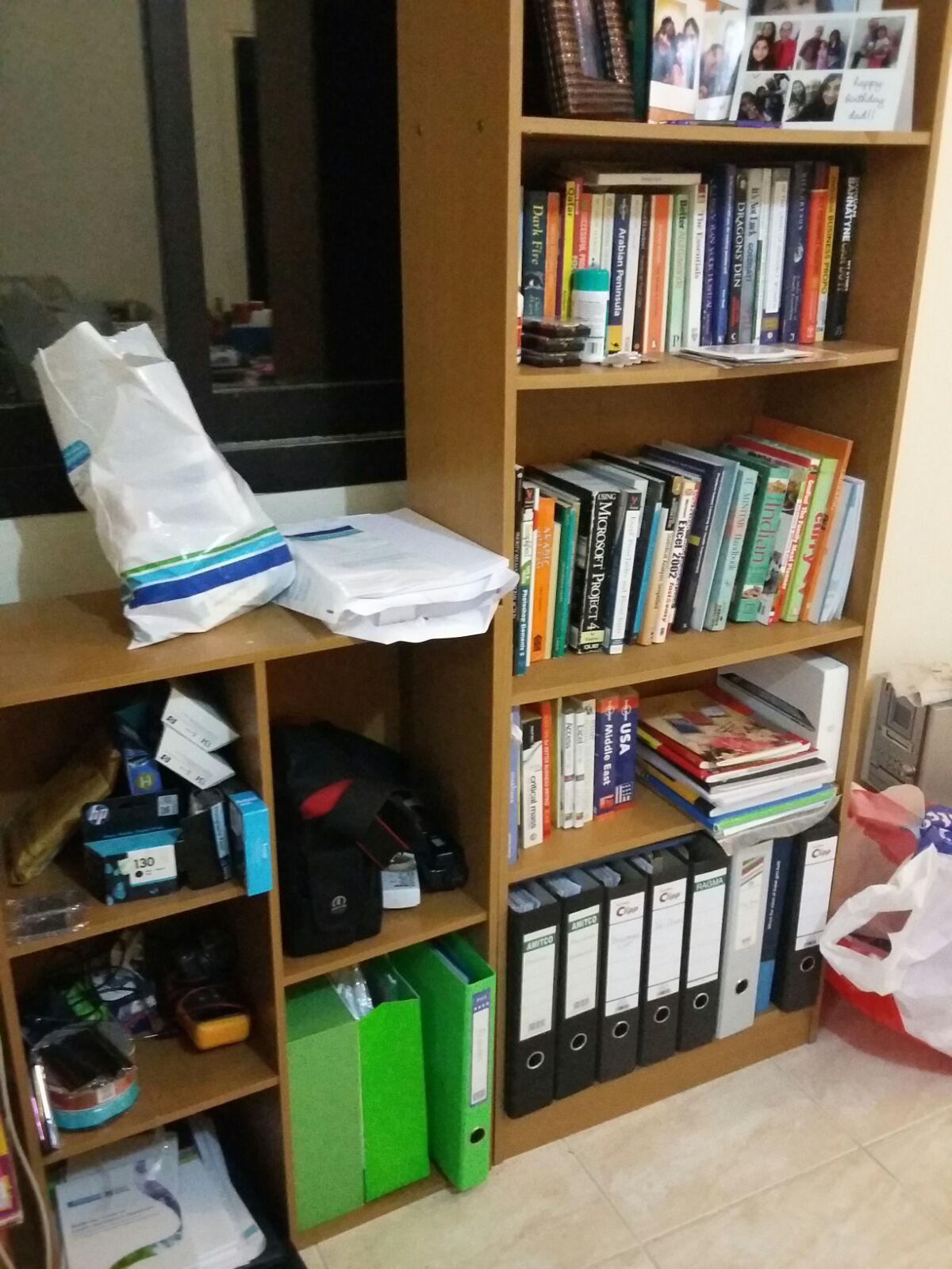 2 Bookshelves