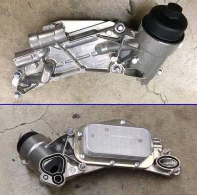 Oil cooler for Chevrolet Cruze