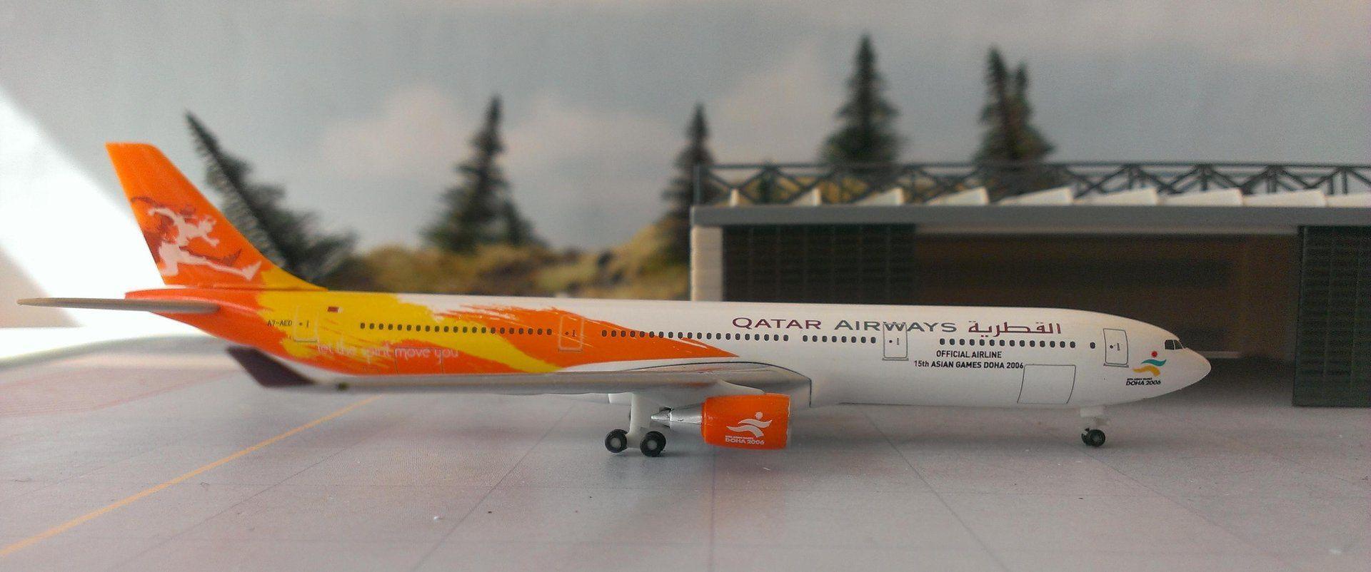 Qatar Airways Asian Games 1:200 Aircraft Models | Qatar Living