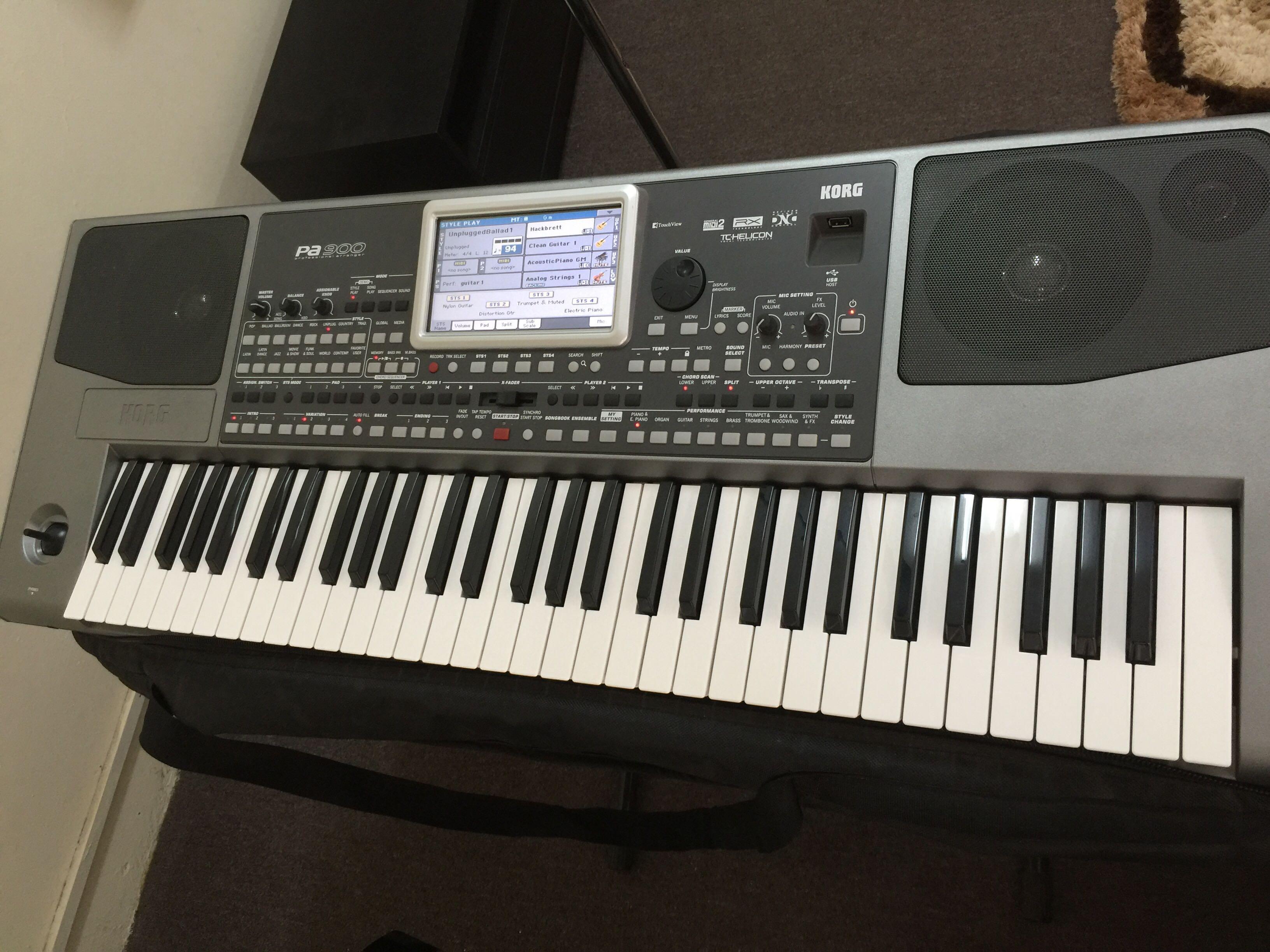 KORG PA900 Arranger keyboard for sale | Qatar Living