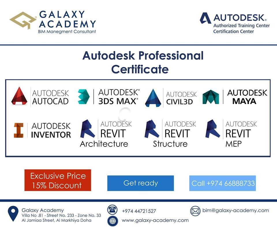 Autodesk Professional Certification Exam 2016 Qatar Living