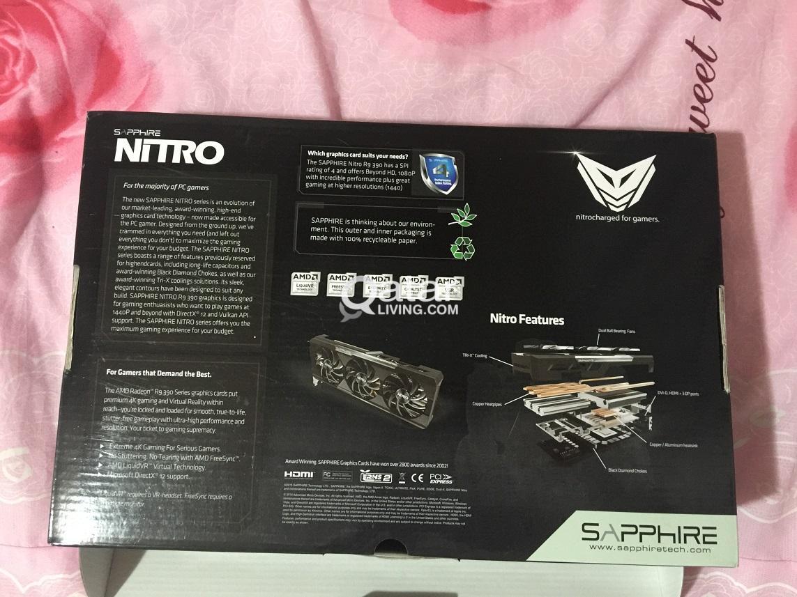 8GB SAPPHIRE NITRO Radeon R9 390 GDDR5 | Qatar Living