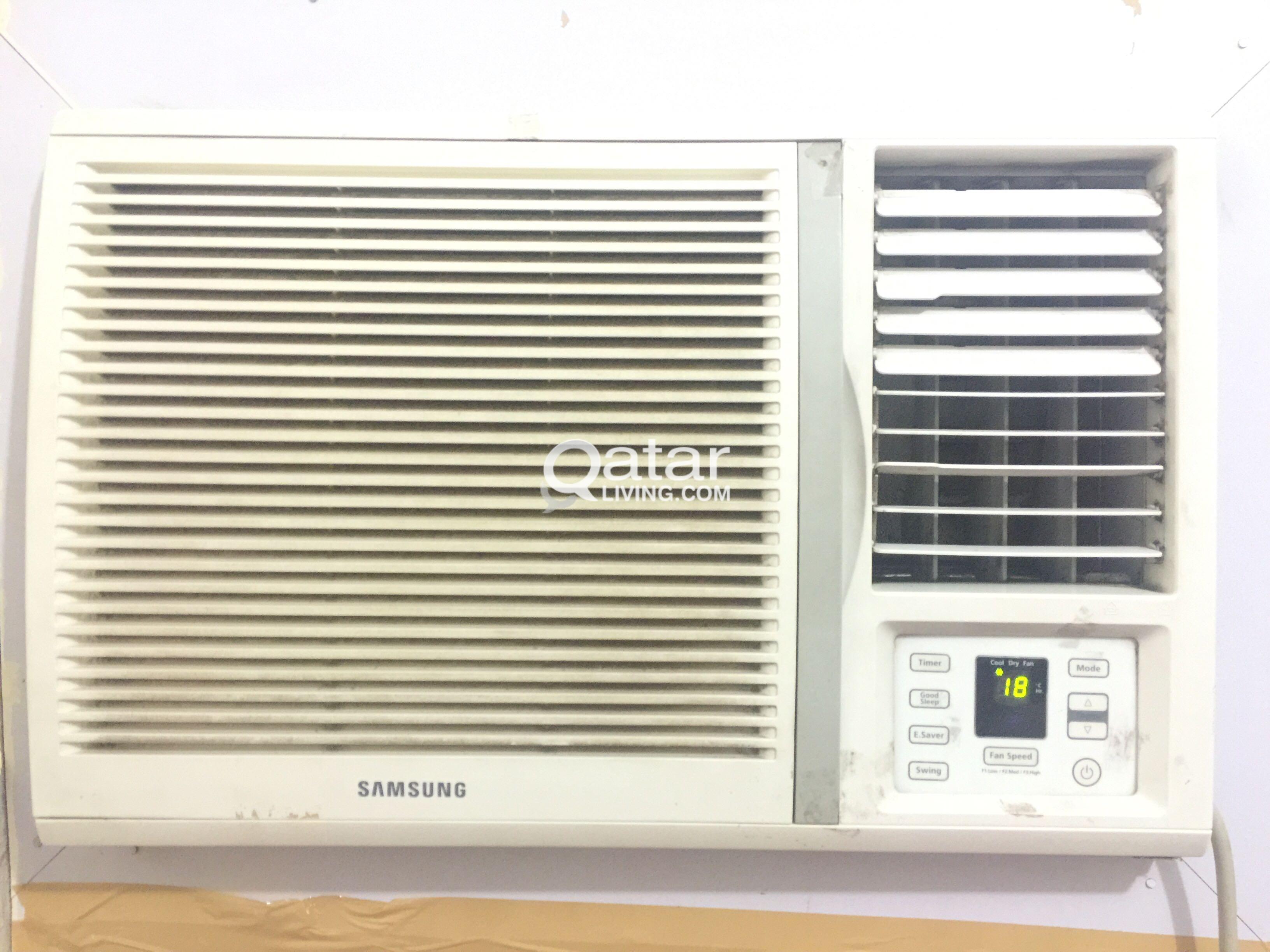 SAMSUNG 1 5 ton Remote control Window Ac   Qatar Living
