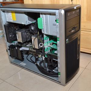 HP POWERFUL WORKSTATION WITH 2 x AMD OPTERON CPU AND