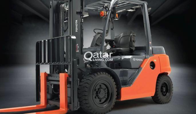 forklift 3,5,7,10 ton, skid loader+sweeper for rental | Qatar Living