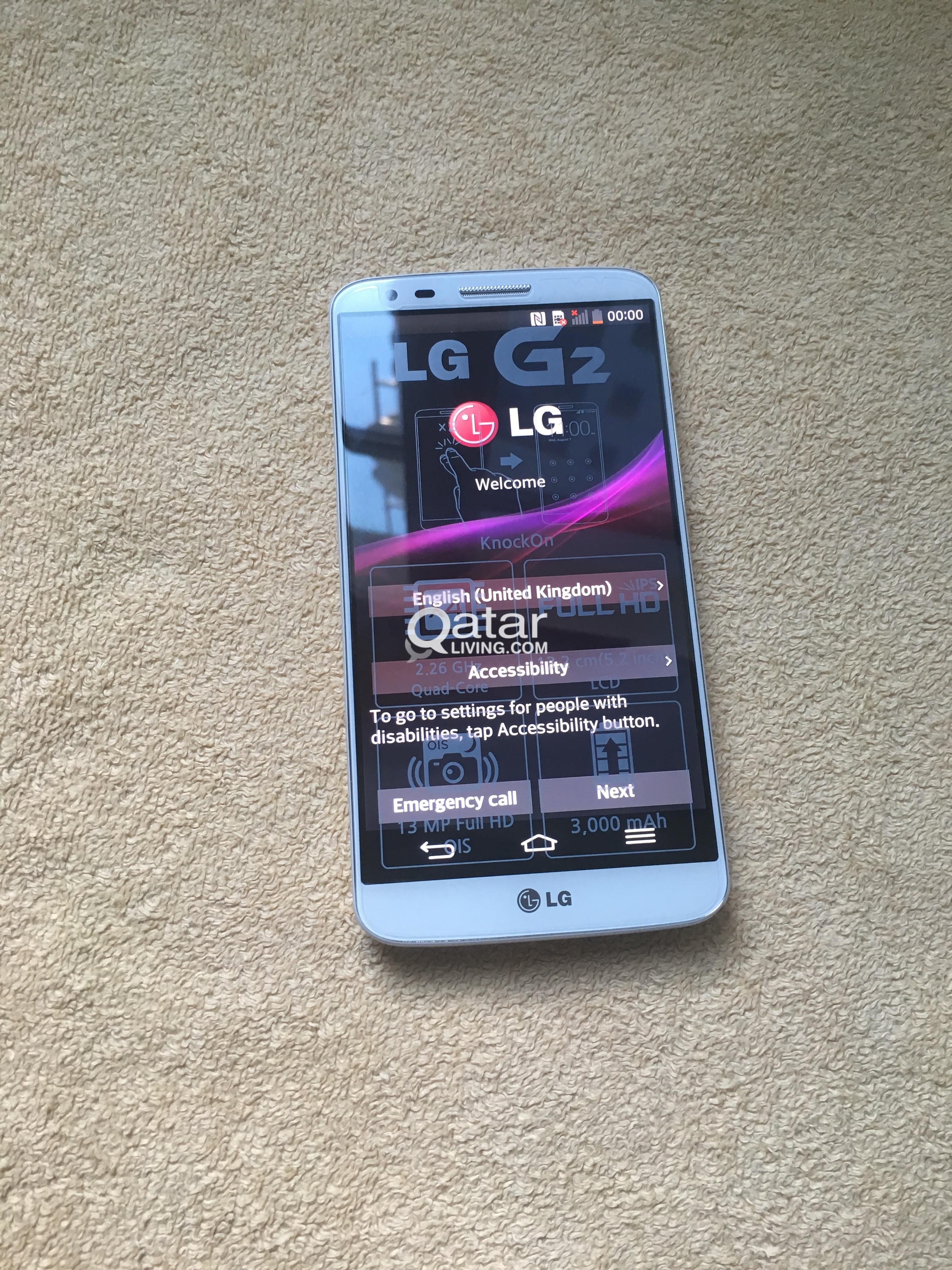 Brand New Lg G2 Amazing Price For Immediate Sale Qatar Living D802 16gb White