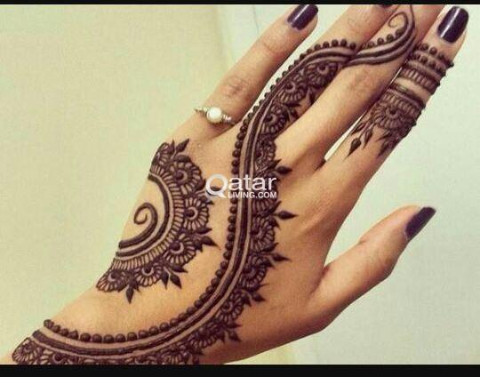 Henna Tattoo Qatar : Mehandi nights qatar living