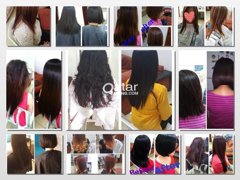 Hair Rebonding Hair Treatment Haircolorhighlights Haircut