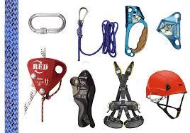 Personal Protective Equipment(Ropes, Pulleys and all