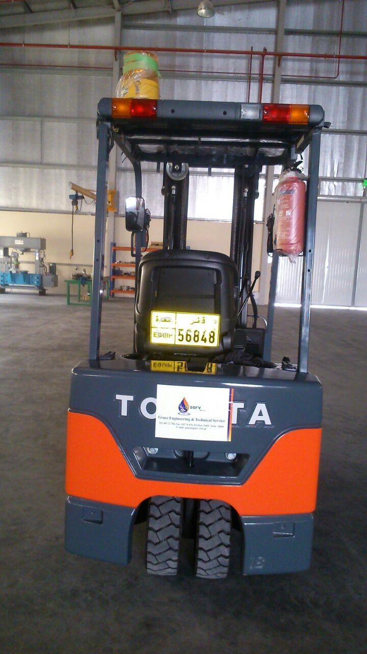 ELECTRIC FORKLIFT FOR SALE / RENT | Qatar Living