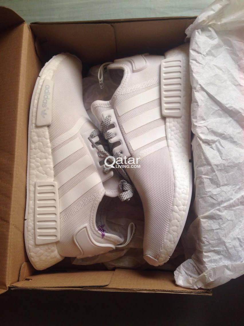 e92e4643f24 shoes for sale adidas NMD size 9 triple white for only 500 riyals ...