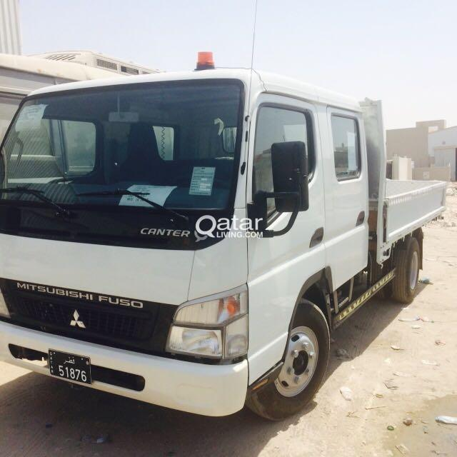 3 Ton Double Cabin Mitsubishi Canter | Qatar Living