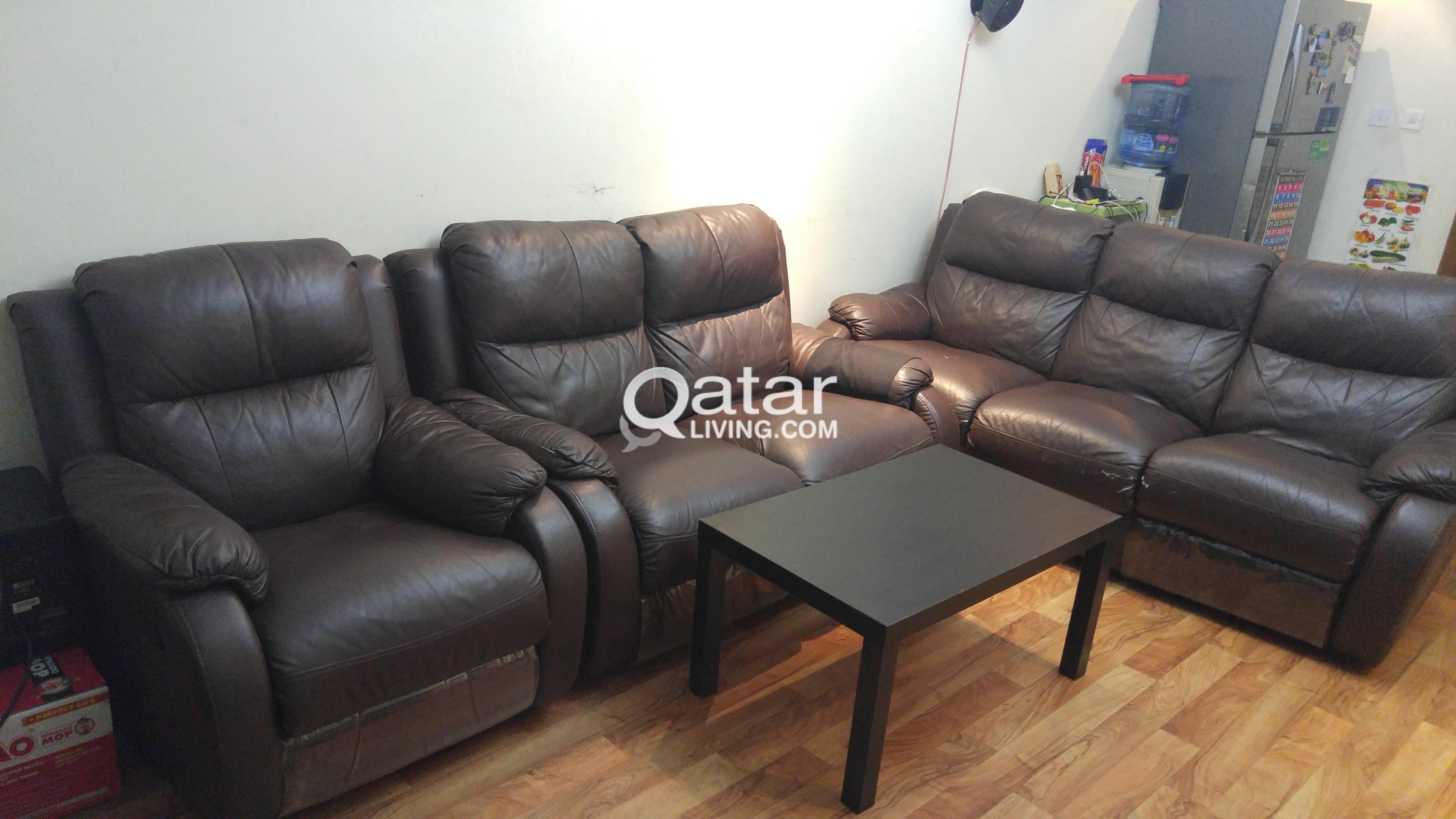 Le Information Home Center Recliner Sofa Set 3 2 1