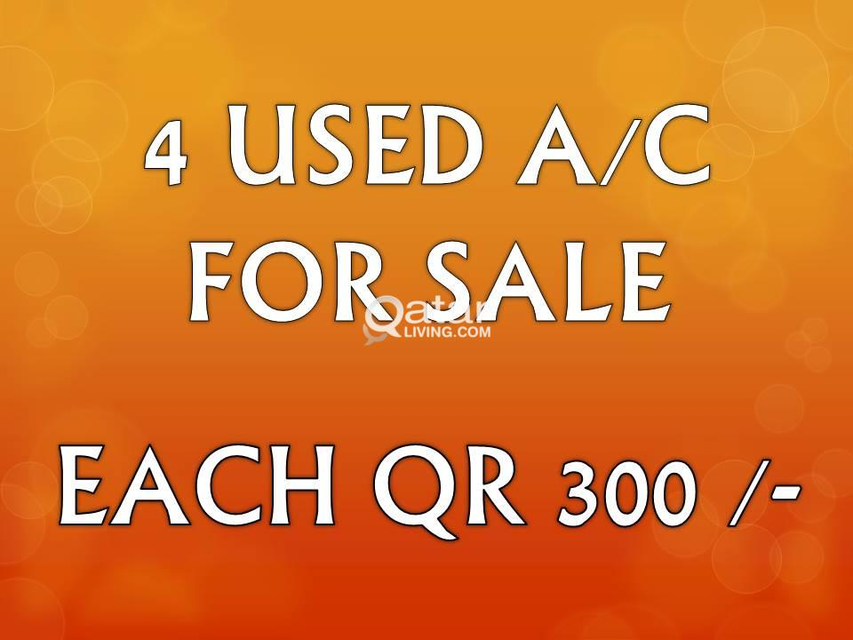 USED A/C FOR SALE (SPECIAL PRICE)