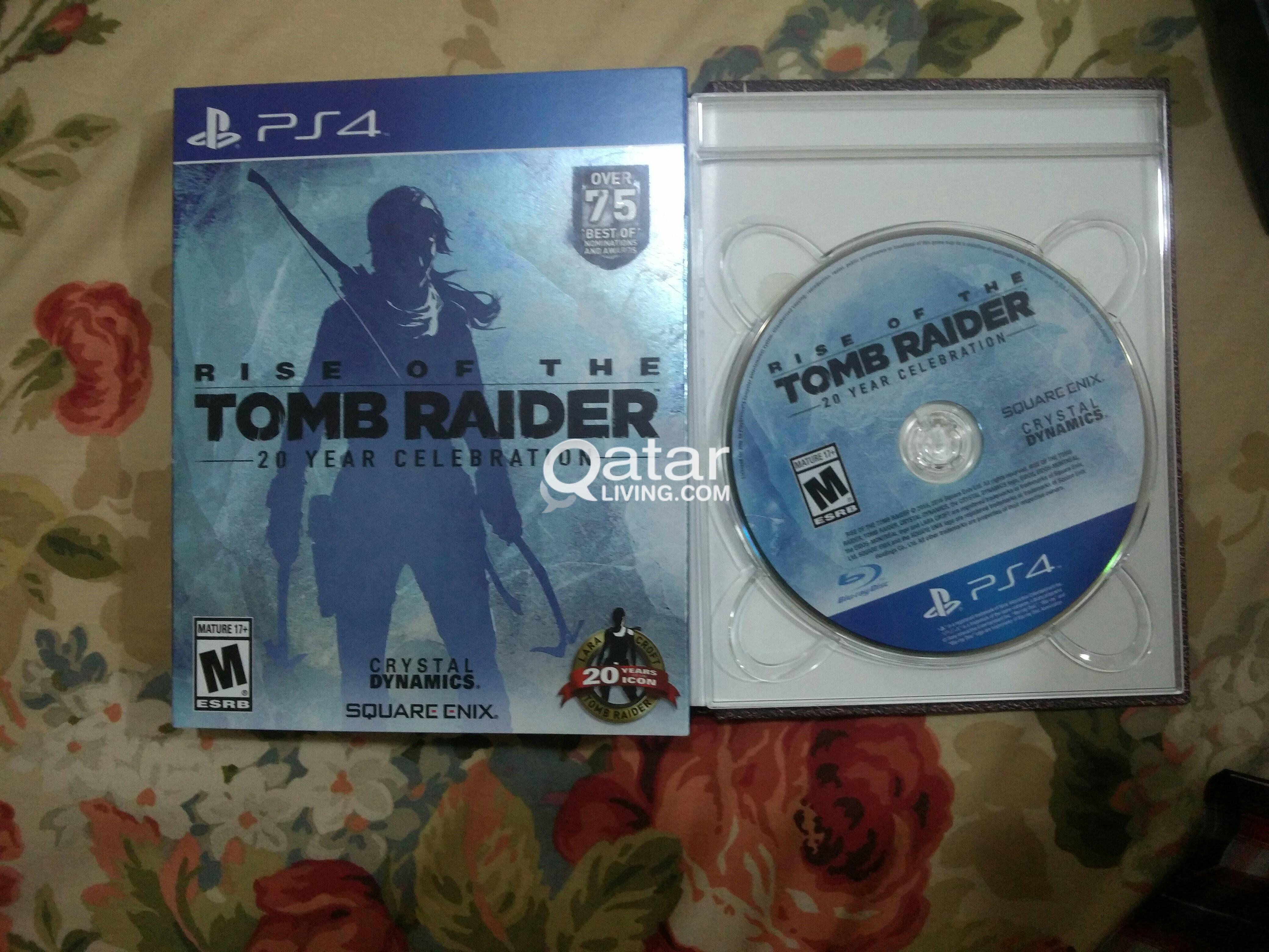 Rise Of The Tomb Raider Ps4 Qatar Living Sony Title