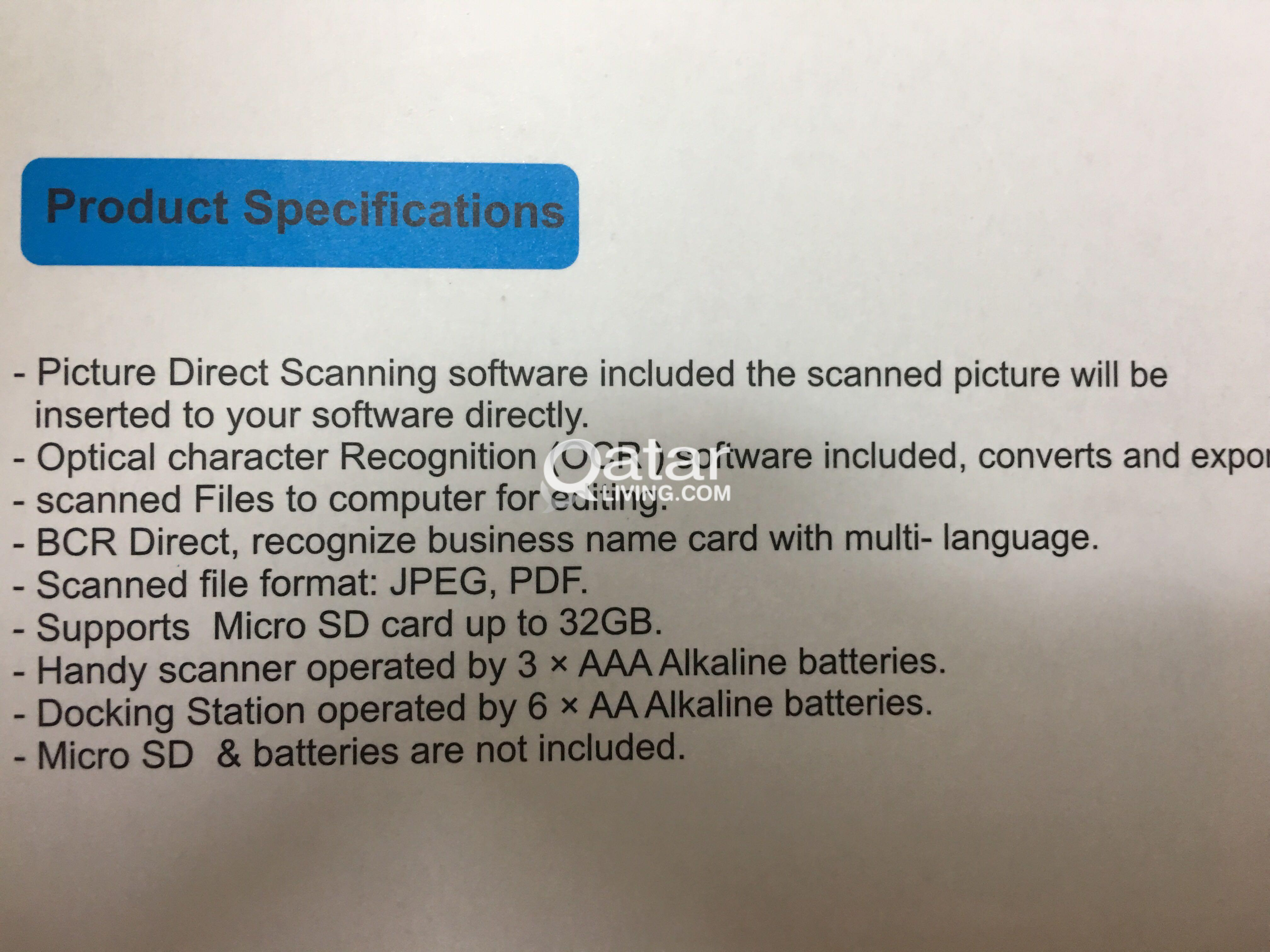 2 in 1 portable scanner ps 490 qatar living reheart Choice Image