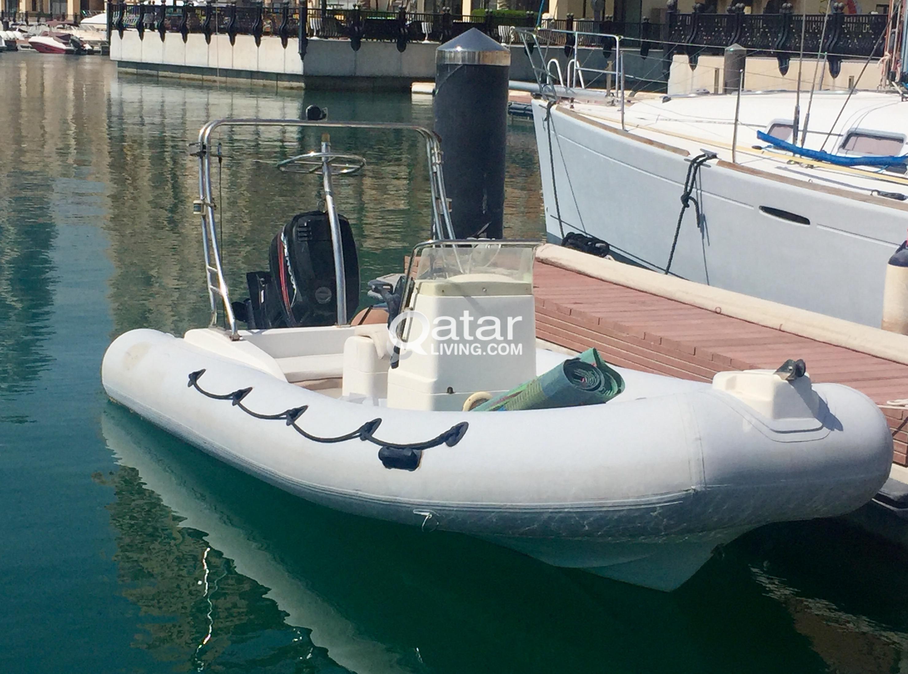RIB (Rigid Inflatable Boat) for sale | Qatar Living