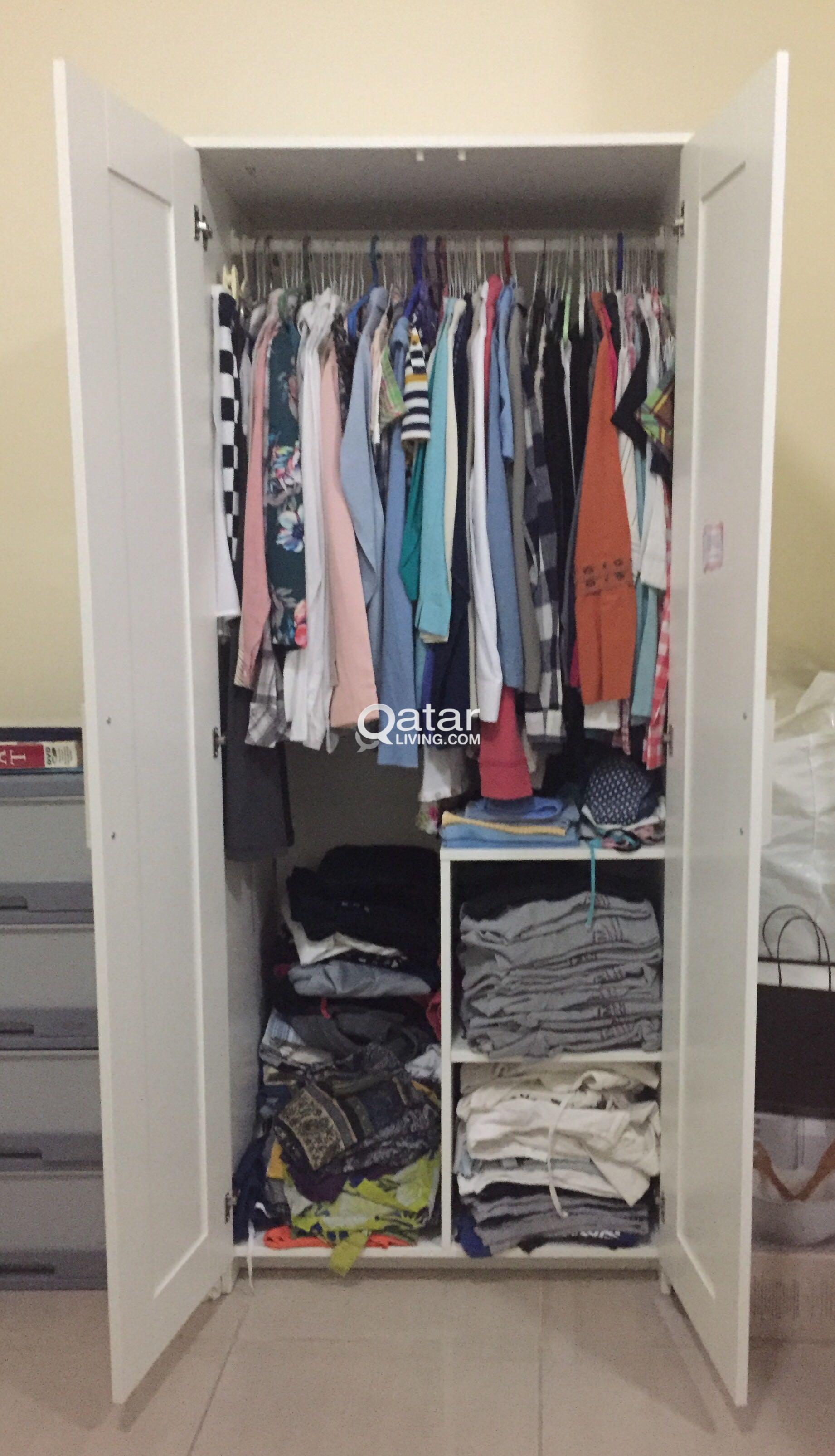 IKEA-BRIMNES WARDROBE/2door   Qatar Living