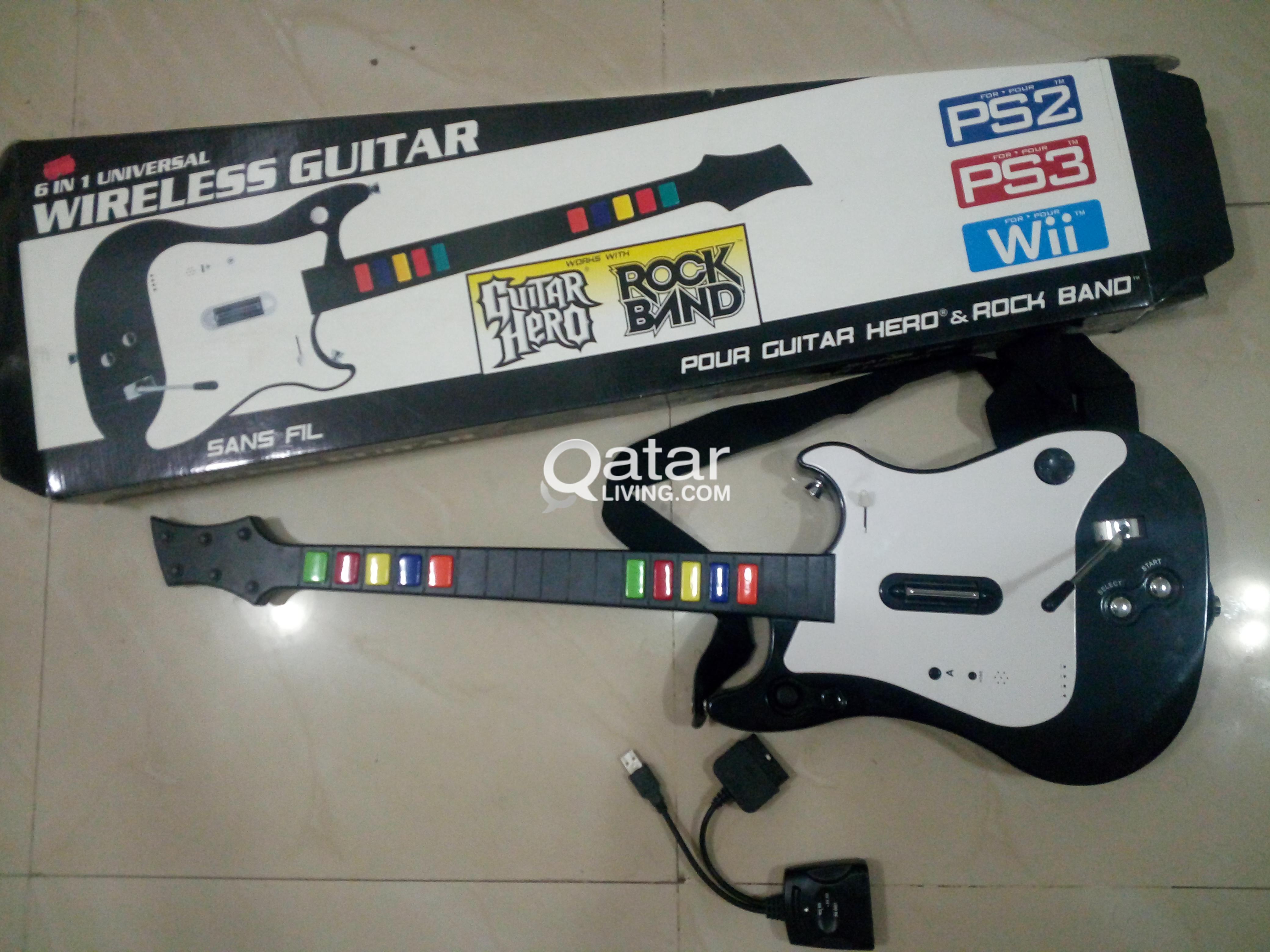 Guitar Hero/Rockband Complete set | Qatar Living