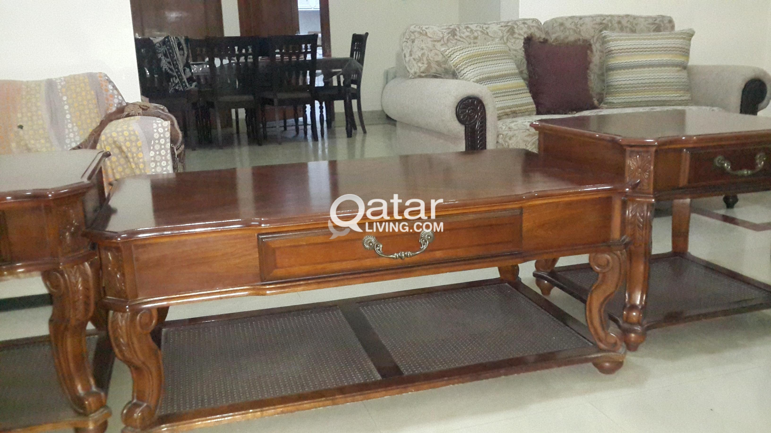 fancy tables set of 3 for sale qatar living
