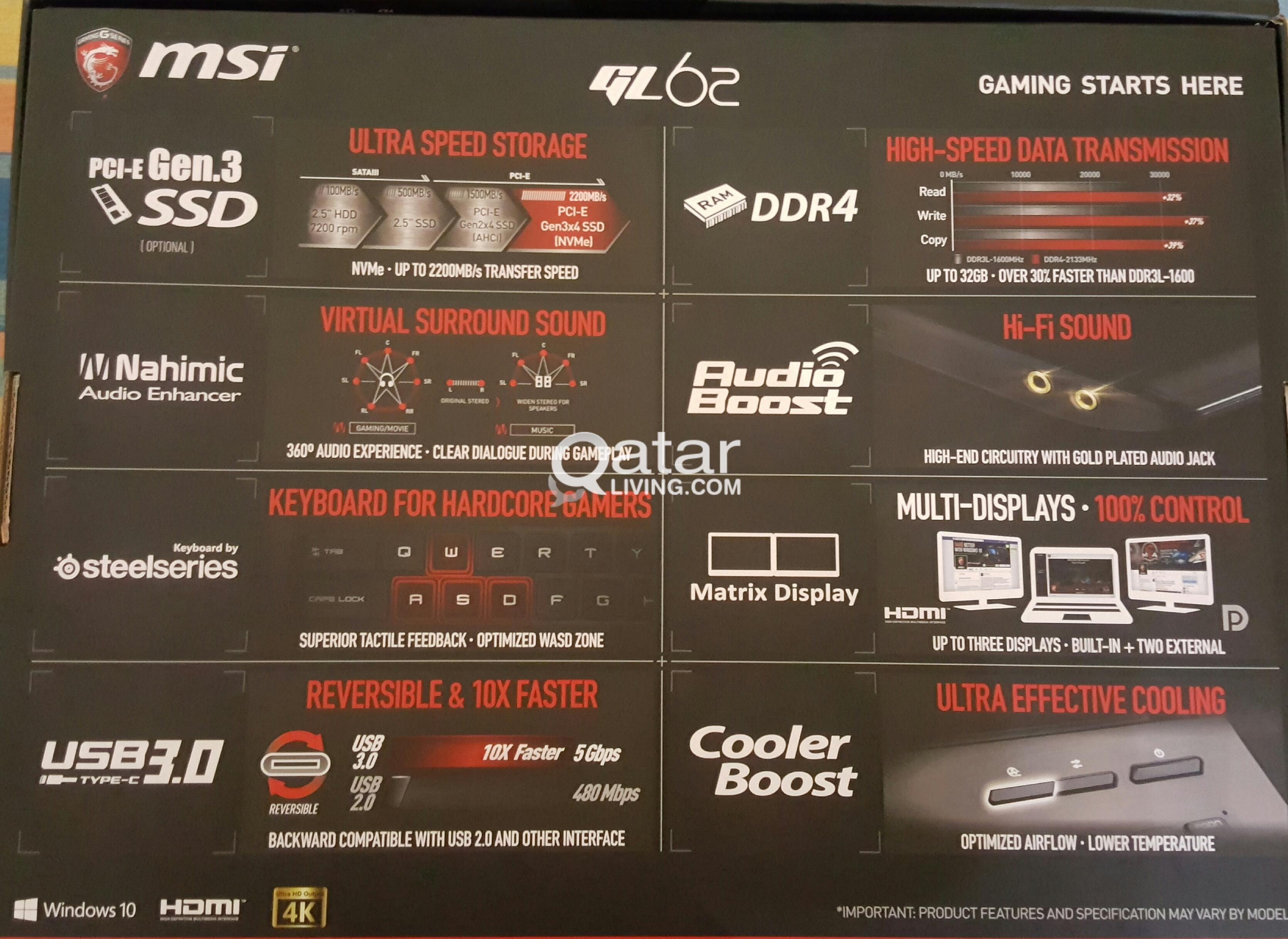 MSI LAPTOP FOR SALE