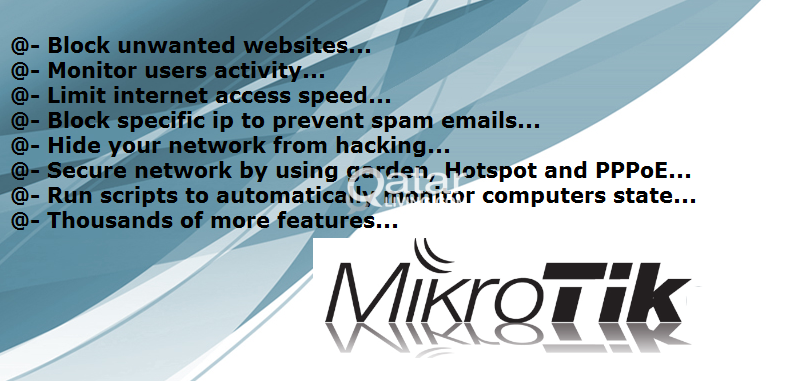 Block Facebook, YouTube & Unwanted Sites Using Mikrotik