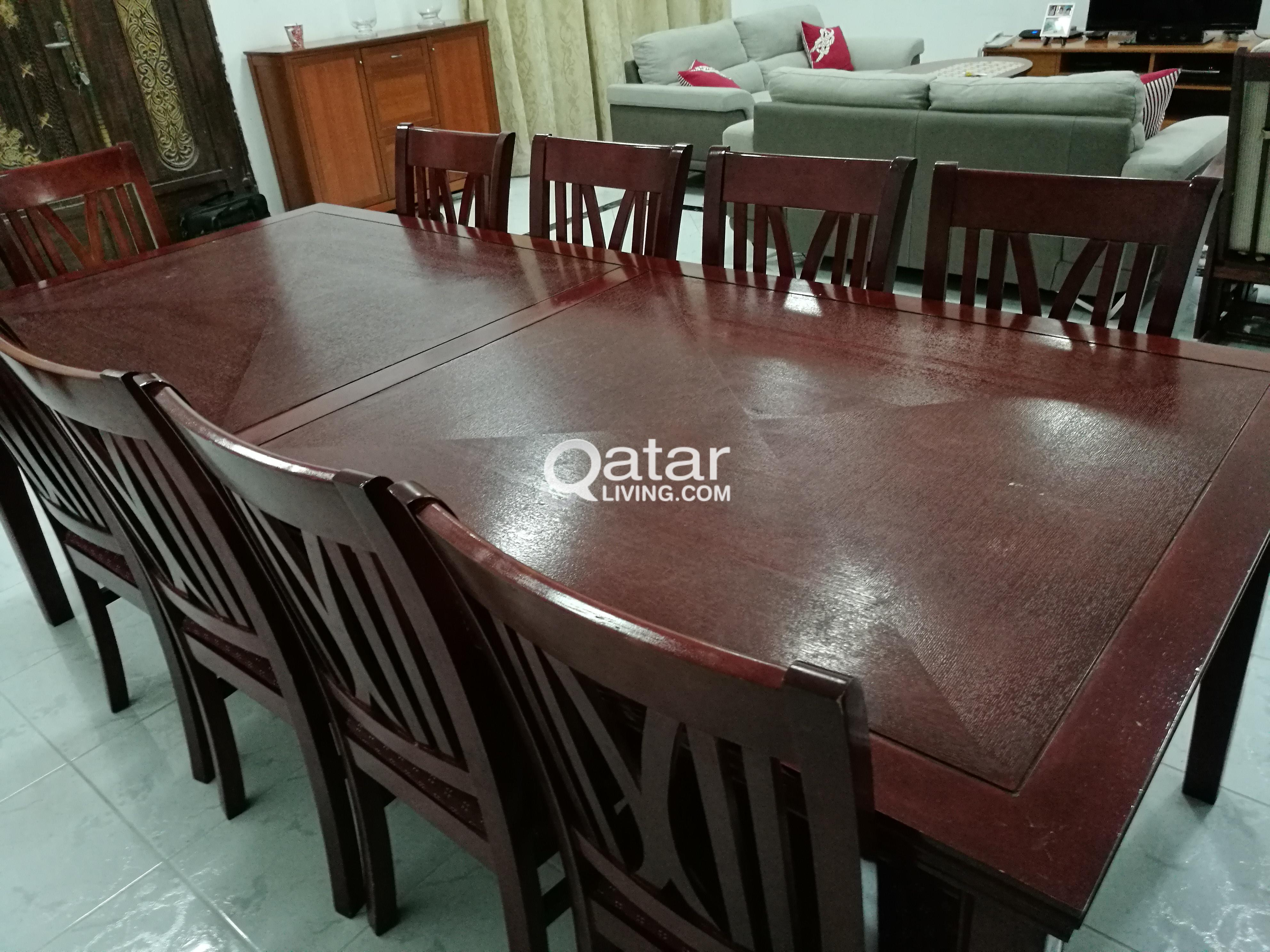 10 Seater Dining Table For Sale Qatar Living
