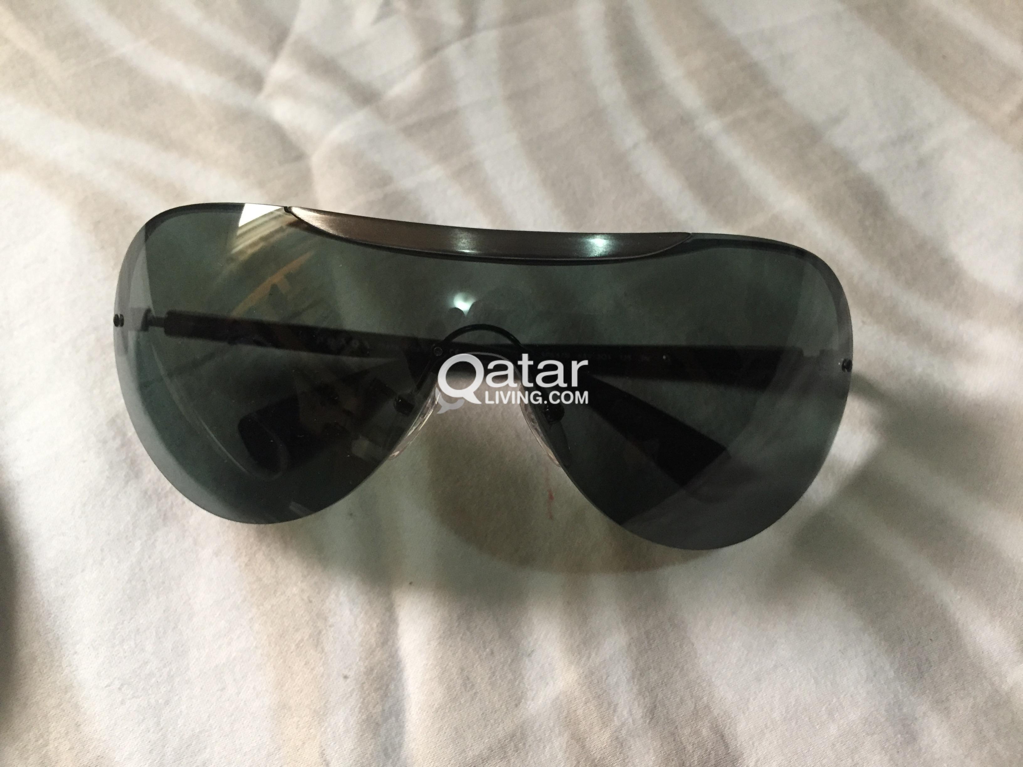 2bd2229bbbca Prada Sport Sunglasses (Black) Made in Italy