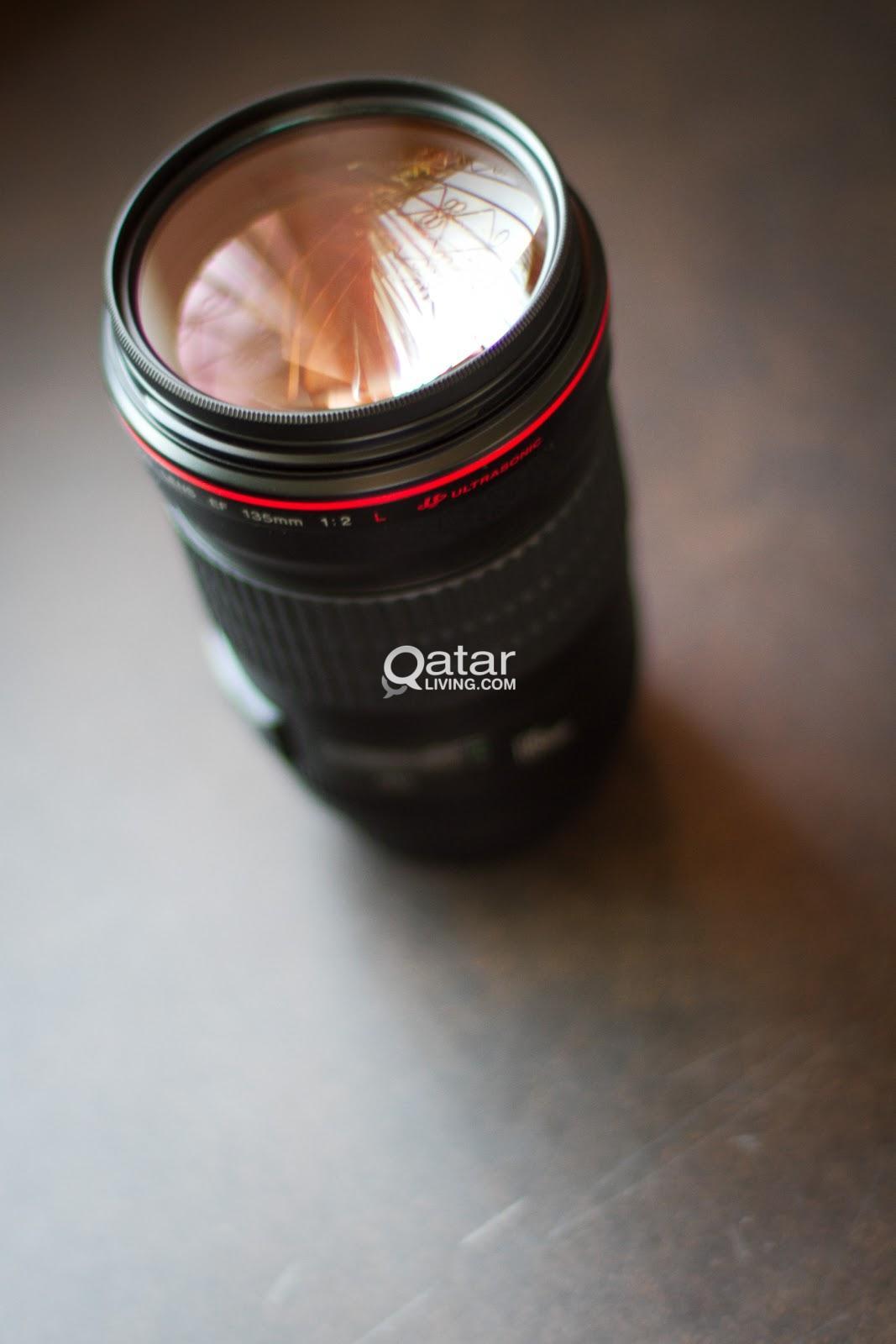Canon 135mm f2 L lens | Qatar Living
