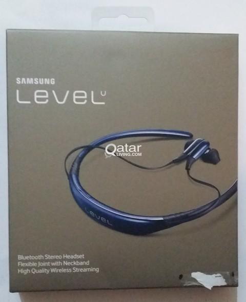 New Sealed Samsung Level U Bluetooth In Ear Dual Mic Stereo Headsets Qatar Living