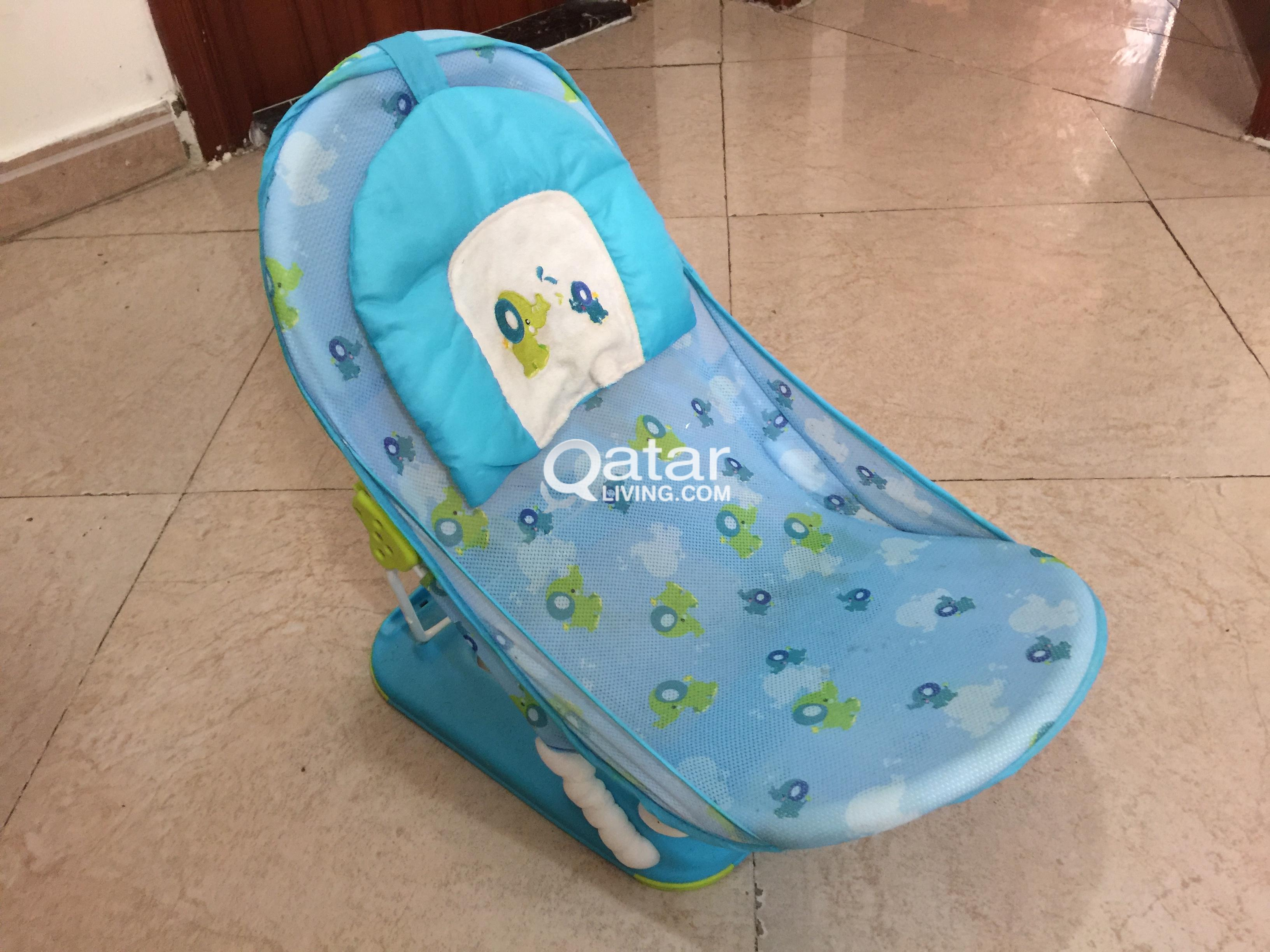 KIds Pram/Chair/Bathing Chair/Study Table with Chair | Qatar Living